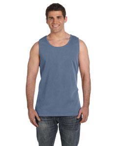 Blue Jean Ringspun Garment-Dyed Tank