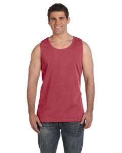 Crimson Ringspun Garment-Dyed Tank