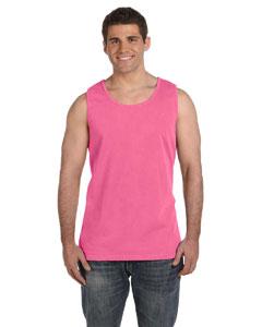 Crunchberry Ringspun Garment-Dyed Tank