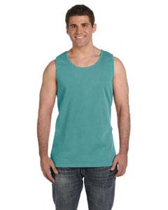 Seafoam Ringspun Garment-Dyed Tank