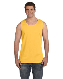 Citrus Ringspun Garment-Dyed Tank