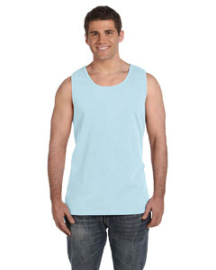 Chambray Ringspun Garment-Dyed Tank