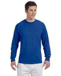Royal Blue 5.2 oz. Long-Sleeve Tagless T-Shirt