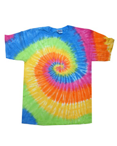 Eternity 5.4 oz., 100% Cotton Tie-Dyed T-Shirt