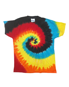 Eclipse 5.4 oz., 100% Cotton Tie-Dyed T-Shirt