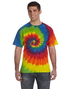 Moondance 5.4 oz., 100% Cotton Tie-Dyed T-Shirt