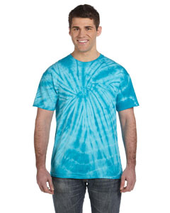 Spider Navy 5.4 oz., 100% Cotton Tie-Dyed T-Shirt