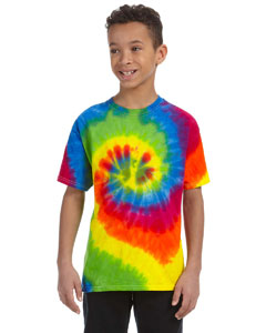 Moondance Youth 5.4 oz., 100% Cotton Tie-Dyed T-Shirt