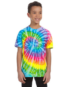 Saturn Youth 5.4 oz., 100% Cotton Tie-Dyed T-Shirt