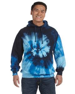 Blue Ocean 8.5 oz. Tie-Dyed Pullover Hood