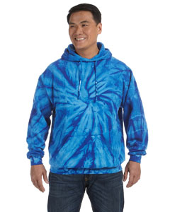 Spider Royal 8.5 oz. Tie-Dyed Pullover Hood