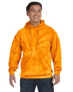 Spider Gold 8.5 oz. Tie-Dyed Pullover Hood