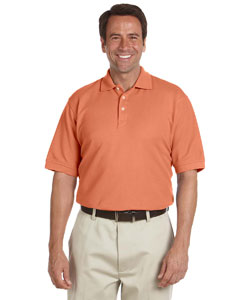 Tangerine Men's Performance Plus Piqué Polo