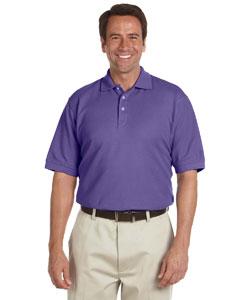 Grape Men's Performance Plus Piqué Polo