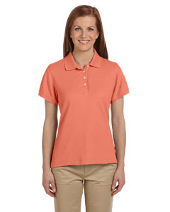 Tangerine Women's Performance Plus Piqué Polo