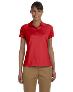 Red Women's Performance Plus Jersey Polo