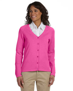 Hibiscus Women's Six-Button Cardigan