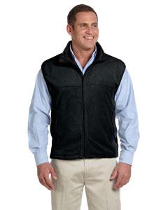 Black Microfleece Vest