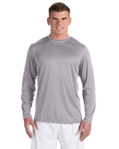 Slate Grey Hther Vapor® 4 oz. Long-Sleeve T-Shirt