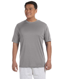 Stone Gray 4 oz. Double Dry® Performance T-Shirt