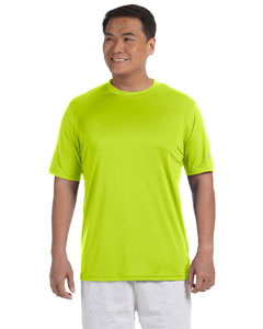 Safety Green 4 oz. Double Dry® Performance T-Shirt