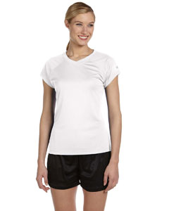 White Women's 4 oz. Double Dry® Performance T-Shirt