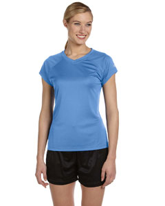 Light Blue Women's 4 oz. Double Dry® Performance T-Shirt