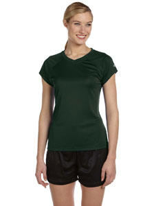 Dark Green Women's 4 oz. Double Dry® Performance T-Shirt