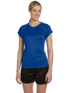 Royal Blue Women's 4 oz. Double Dry® Performance T-Shirt