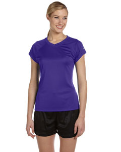 Purple Women's 4 oz. Double Dry® Performance T-Shirt
