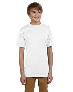 White Youth 4 oz. Double Dry® Performance T-Shirt