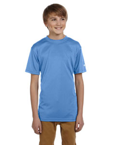 Light Blue Youth 4 oz. Double Dry® Performance T-Shirt