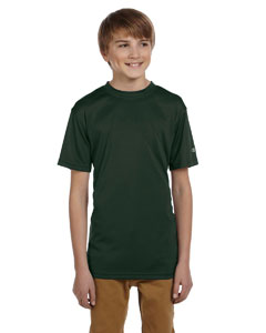 Dark Green Youth 4 oz. Double Dry® Performance T-Shirt