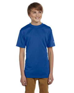 Royal Blue Youth 4 oz. Double Dry® Performance T-Shirt
