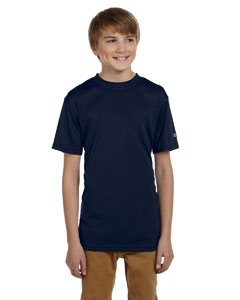 Navy Youth 4 oz. Double Dry® Performance T-Shirt