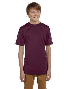 Maroon Youth 4 oz. Double Dry® Performance T-Shirt
