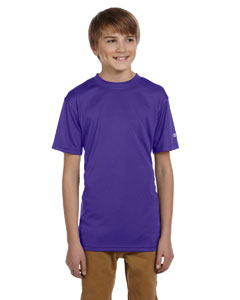 Purple Youth 4 oz. Double Dry® Performance T-Shirt