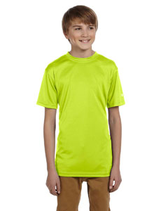 Safety Green Youth 4 oz. Double Dry® Performance T-Shirt