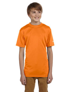 Safety Orange Youth 4 oz. Double Dry® Performance T-Shirt