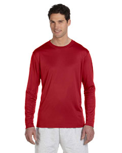 Scarlet 4 oz. Double Dry® Performance Long-Sleeve T-Shirt