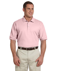Pink Men's Pima Piqué Short-Sleeve Polo