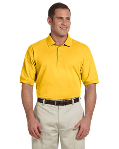 Sunray Yellow Men's Pima Piqué Short-Sleeve Polo