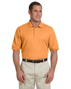 Tangerine Men's Pima Piqué Short-Sleeve Polo
