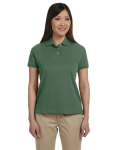 Dill Women's Solid Perfect Pima Interlock Polo