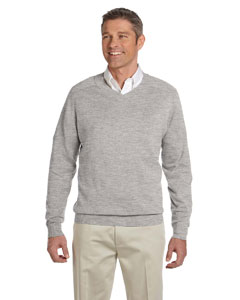Grey Heather Men's V-Neck Sweater