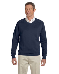 Navy Men's V-Neck Sweater