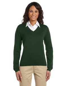 Forest Women's V-Neck Sweater