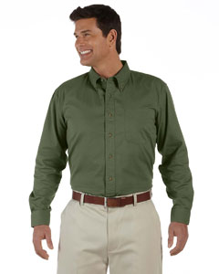 New Olive Men's Long-Sleeve Titan Twill