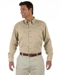 Khaki Men's Long-Sleeve Titan Twill