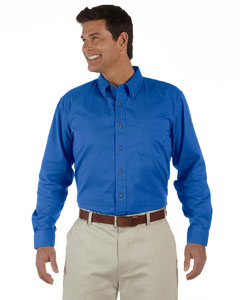 French Blue Men's Long-Sleeve Titan Twill